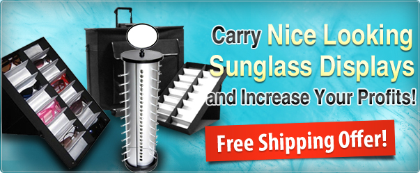 Nice Looking Sunglass Displays Increase Profits