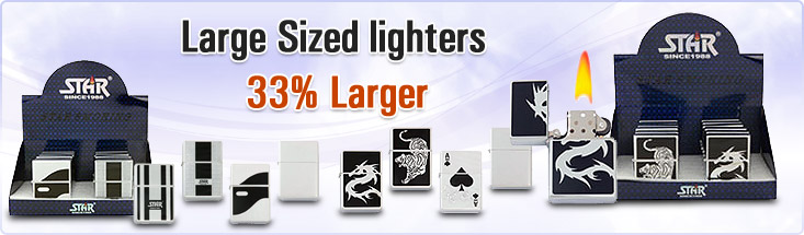 Large Sized lighters